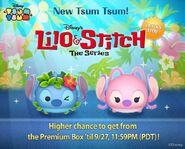 DisneyTsumTsum Lucky Time International Lilo&Stitch LineAd2 20150924