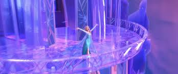 File:Elsa and her ice castle.jpg