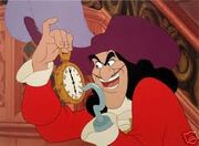 Captain Hook from Peter Pan