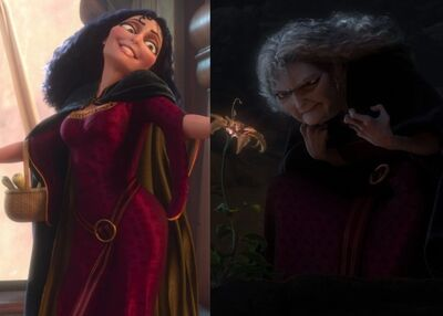 Mother Gothel Age Difference