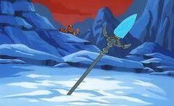 Gungnir in ice