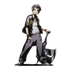 High-res Ginji without bg