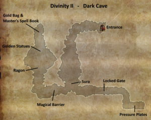 Divinity 2 Dark Cave Map