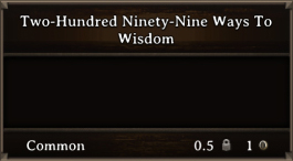 DOS Items Books Two-Hundred Ninety-Nine Ways To Wisdom