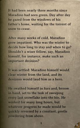 DOS Items Books Maradino's Cold Bones Page1