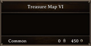 DOS Items Books Treasure Map VI Stats