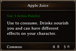 DOS Items FnD Apple Juice