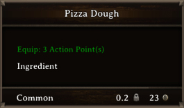 DOS Items FnD Pizza Dough