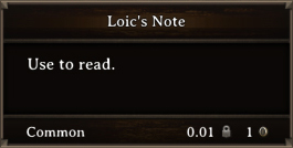 DOS Items Books Loic's Note