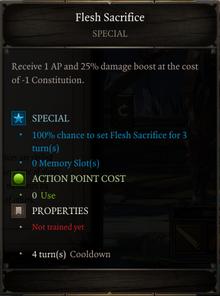 Flesh Sacrifice