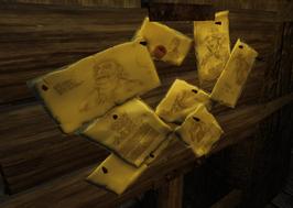 Wanted Board-Circle of Trust Inn (D2 FoV object)