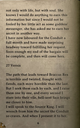 DOS Items Books Thelyron's Diary Page6