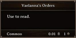 DOS Items Books Vaelanna's Orders