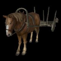 Ob horse idle