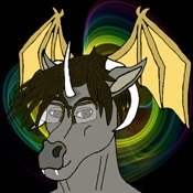 File:ChaosMageX FursonaAvatar01-colorYellowHeadWings.jpg