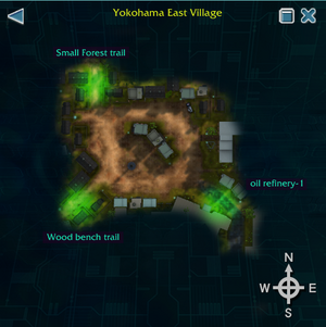 Yokohama East Village map