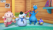 Stuffy, lambie and chilly 'yes coach kay'