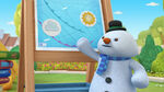 Chilly shows off the weather