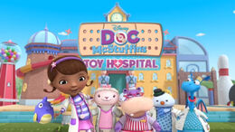 Doc mcstuffins toy hospital theme