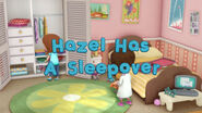 Hazel Has a Sleepover