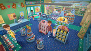 Inside the toy store