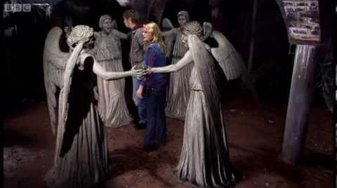 The Weeping Angels attack! - Doctor Who - Blink - Series 3 - BBC