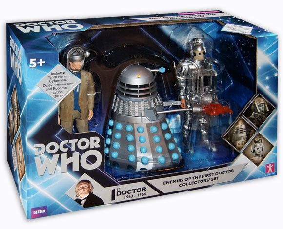 Enemies of the first doctor collectors set