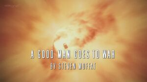 A good man goes to war