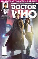 Tenth doctor year 2 issue 1a