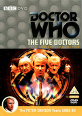 Five doctors anniversary edition uk dvd