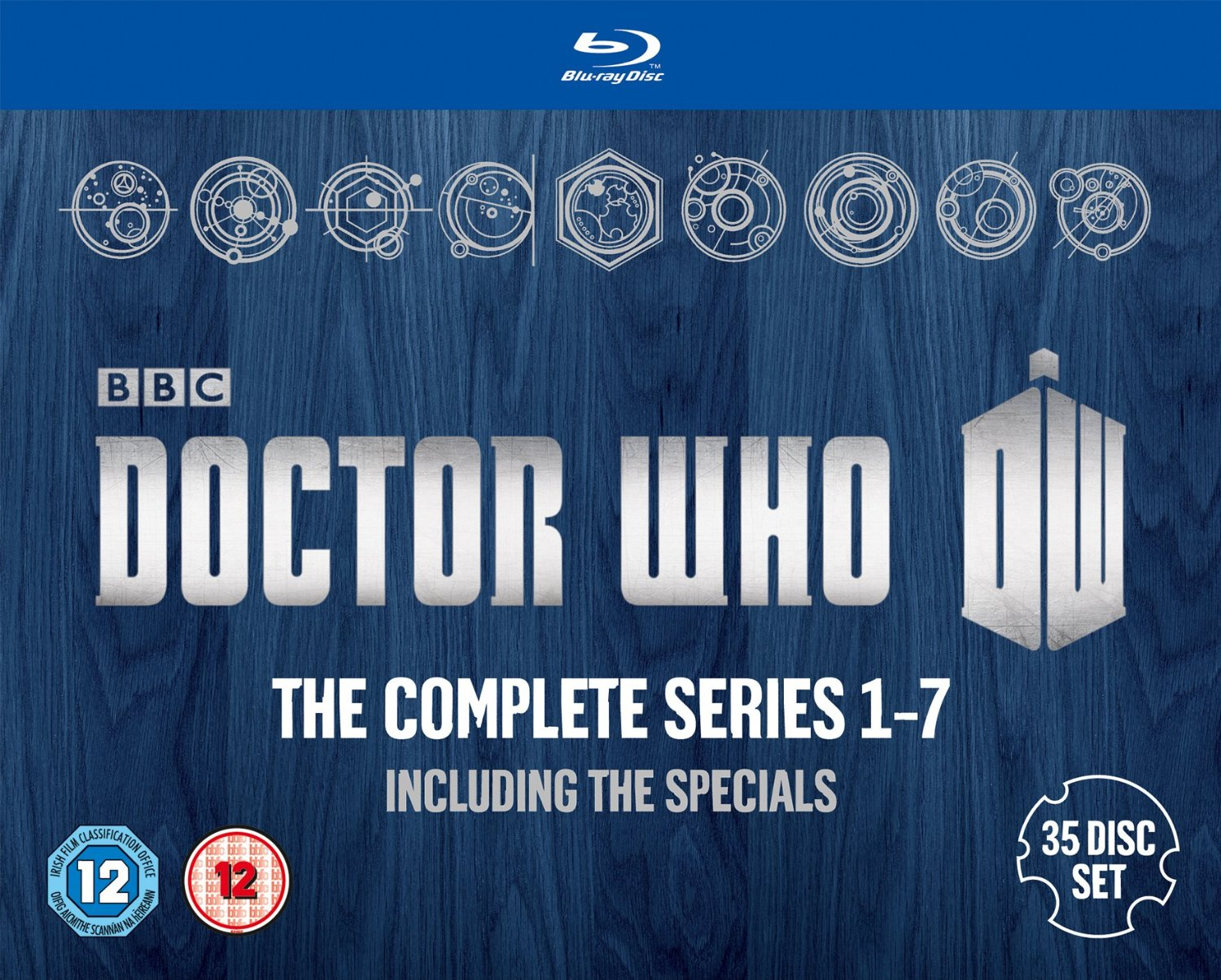 Complete series 1-7 uk bd