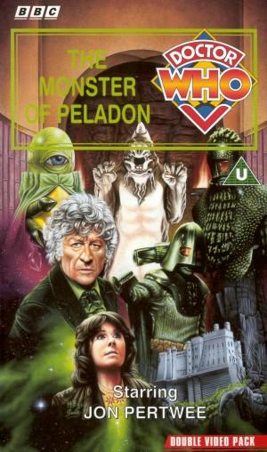 Monster of peladon uk vhs