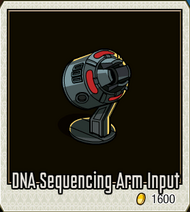 Detail-DNA Sequencing Arm Input