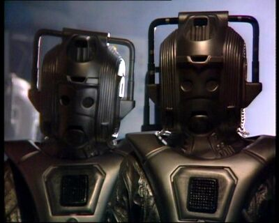 Cyber Leader and Cyberman