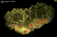 Skeleton Dungeon Room 3