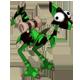 Ebony and Emerald Dragoturkey