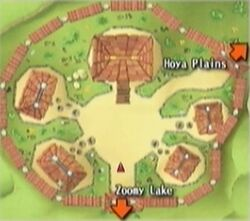 Zoomy Village map