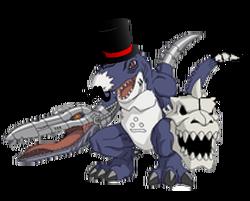 A digimon villain