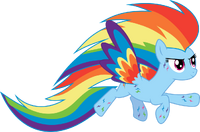 Rainbow power rainbow dash by whizzball2-d7hz5k5