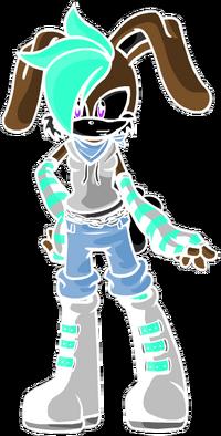 Dogk id as SONIC BUNNY