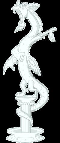 Discord statue by vectorshy-d4e5w1r