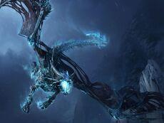 Fantasy-ice-dragon-wallpaper
