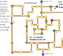 Lost Forest Map