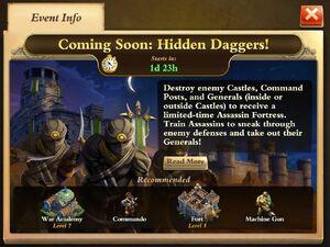 Hidden Daggers Obj