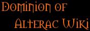 Dominion of Alterac Wiki