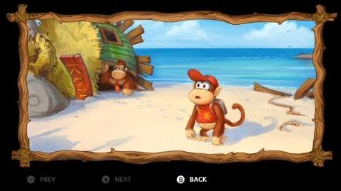 Donkey Kong Country Tropical Freeze - Level 1-1 Mangrove Cove Letters KONG Puzzle Pieces