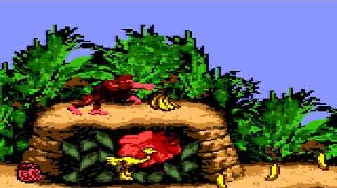 Donkey Kong Country (GBC) - Kongo Jungle - Jungle Hijinxs