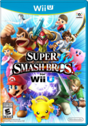 SSB4 Wii U cover art