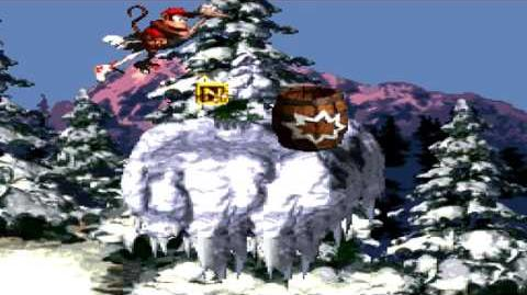 Donkey Kong Country (SNES) - Gorilla Glacier - Ice Age Alley