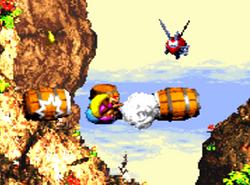 Cliffside blast